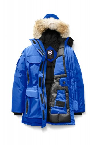 09 Expedition Parka High Quality Down Jacket Blue