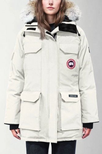 09 Expedition Parka High Quality Down Jacket White