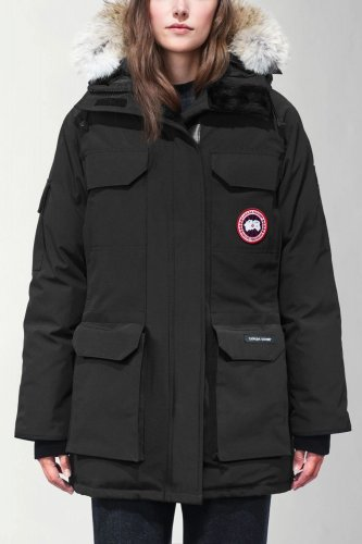 09 Expedition Parka High Quality Down Jacket Black