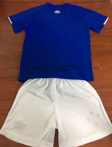 Cruzeiro 19/20 Kids Home Soccer Jersey and Short Kit