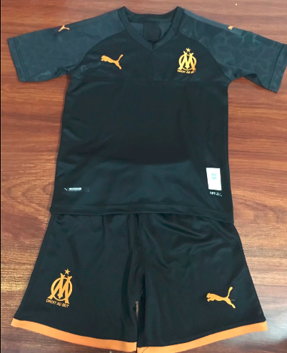 Olympique Marseille 19/20 Soccer Jersey and Short Kit
