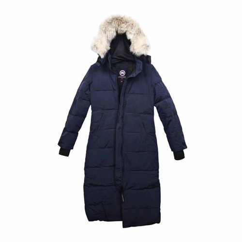 High Quality Women's 22 CA Coat Navy Blue