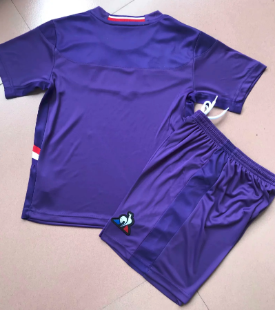 Fiorentina 19/20 Kids Home Soccer Jersey and Short Kit