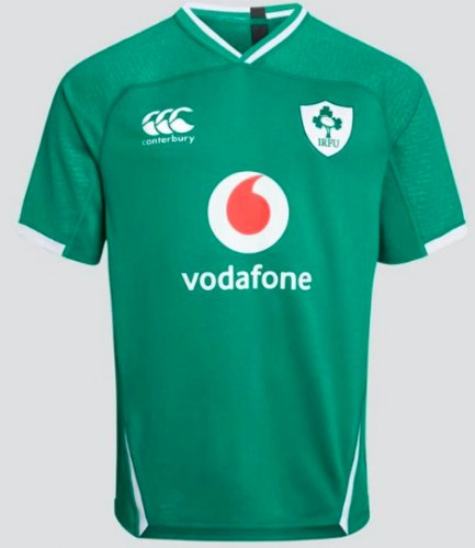 Ireland 2020 Home Rugby Jesery