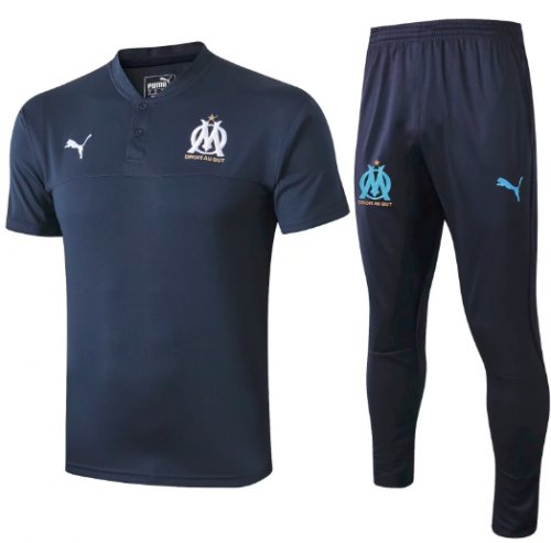 Olympique Marseille 19/20 Training Polo and Pants - #C371