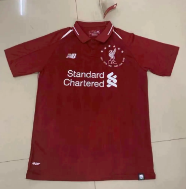 Thai Version Liverpool Europe Champion Soccer Jersey