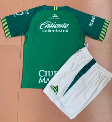 Club Leon 19/20 Home Soccer Jersey and Short Kit