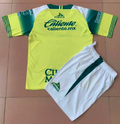 Club Leon 19/20 Kids Away Soccer Jersey and Short Kit