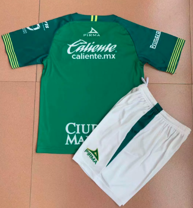 Club Leon 19/20 Kids Home Soccer Jersey and Short Kit