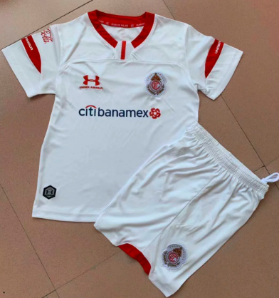 Toluca 19/20 Away Soccer Jersey and Short Kit