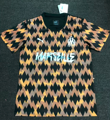 Thai Version Olympique Marseille limited 19/20 edition Soccer Jersey - 002