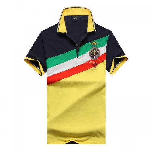 Men's Classical Embroidery Polo Shirt F37C 001