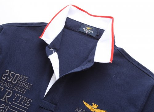 Men's Classical Embroidery Polo Shirt 204D 001
