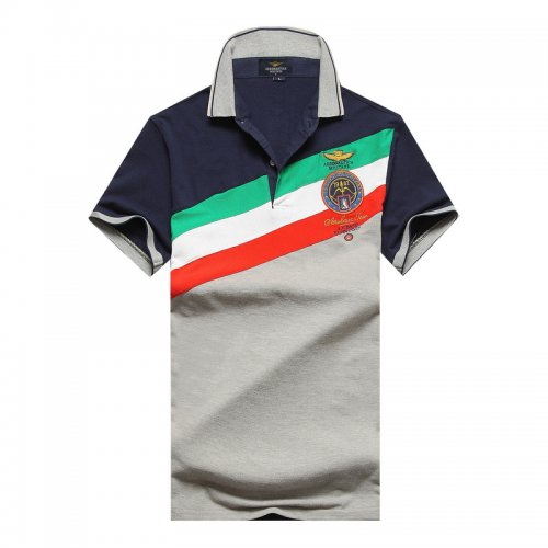 Men's Classical Embroidery Polo Shirt F37C 003