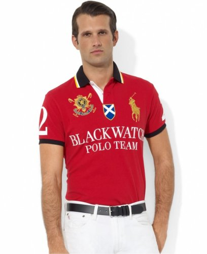 Men's Classical Embroidery Polo Shirt 2BEC 004