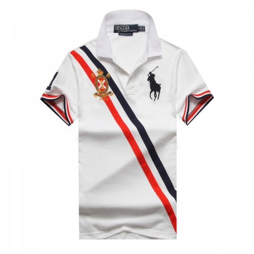 Men's Classical Embroidery Polo Shirt 59F1 001