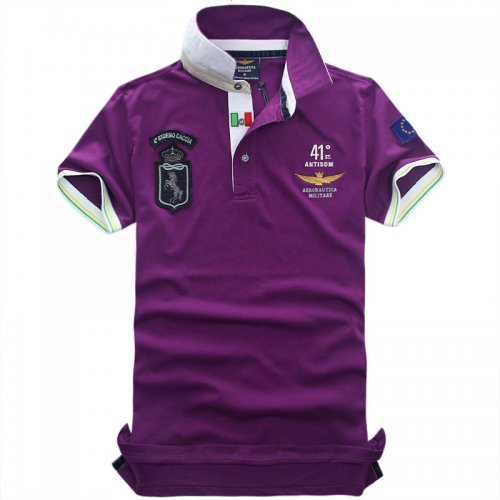 Men's Classical Embroidery Polo Shirt F717 002
