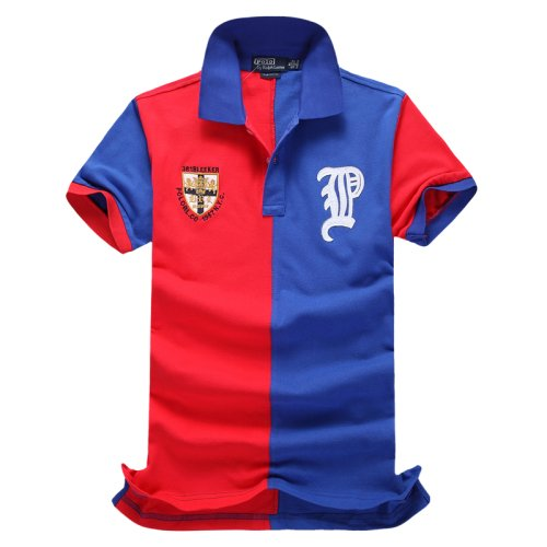 Men's Classical Embroidery Polo Shirt 5F60
