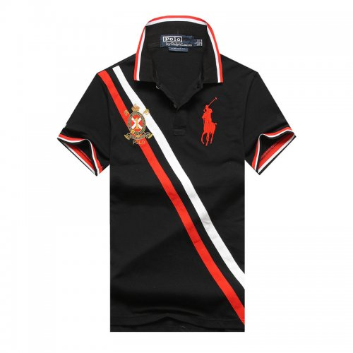Men's Classical Embroidery Polo Shirt 59F1 002