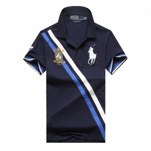 Men's Classical Embroidery Polo Shirt 59F1 003