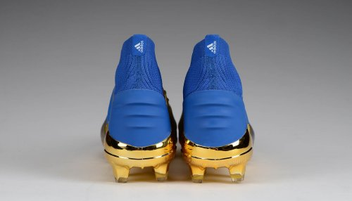 Predator 19+ FG - Gold Metallic/Blue/White