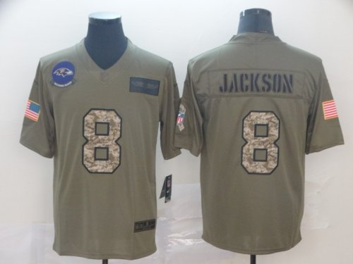 Men's Football Club Team Player Jersey - Salute to Service 539