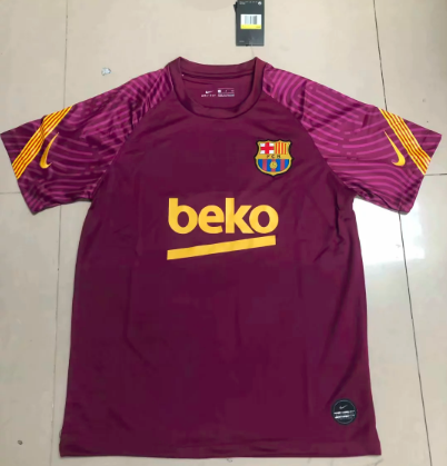 Thai Version Barcelona 19/20 Training Jersey - 007