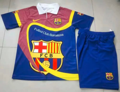 Barcelona 19/20 special edition Soccer Jersey and Short Kit