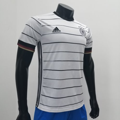 Thai Version Germany Euro 2020 Authentic Home Jersey by shootjerseys