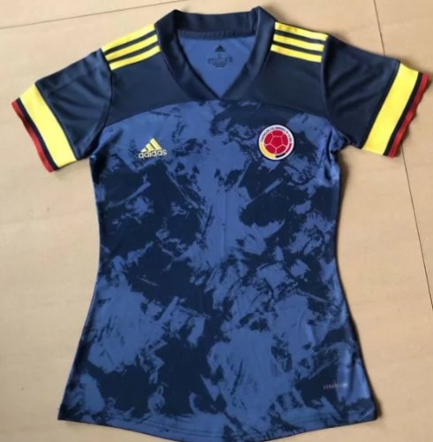 Thai Version Colombia 2020 Women's Away Soccer Jersey