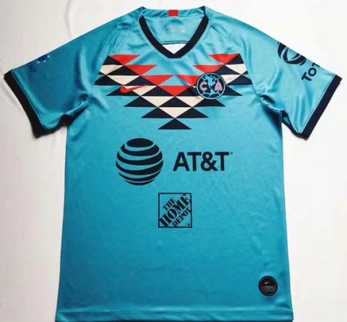 Thai Version Club America 19/20 Soccer Jersey - 001