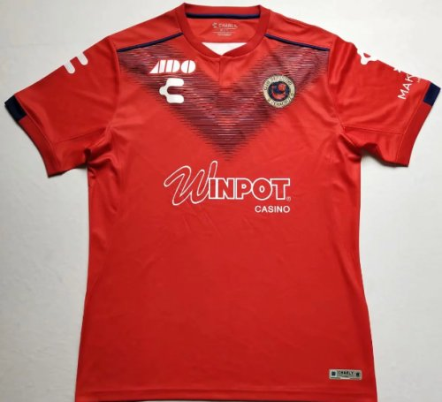 Thai Version Tiburones Veracruz 19/20 Soccer Jersey - Red