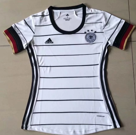 Thai Version Germany 2020 Women's Home Soccer Jersey