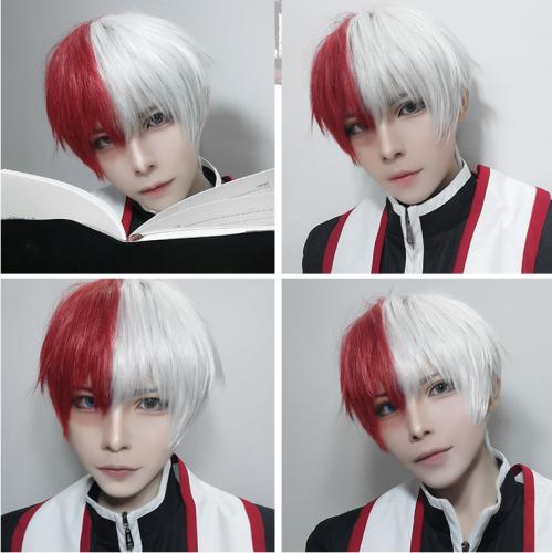 My Hero Academy Shoto Todoroki Cosplay Wig