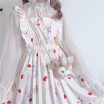 Cute Strap Dress Female Cute Harajuku Cloth Dresses