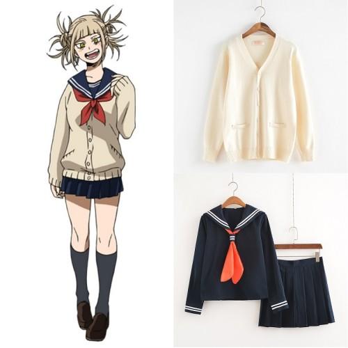 My Hero Academia Cosplay Uniform Himiko Toga