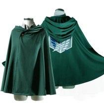 Attack on Titan Cloak Shingeki no Kyojin Scouting Legion Cosplay Costume Cape