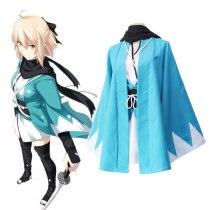 FGO Fate Stay Night Fate Grand Order Cosplay Sakura Saber Okita Souji Kimono