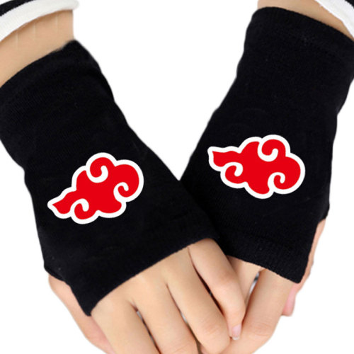 Anime One Piece Naruto Attack On Titan Dragon Ball Finger-less Cotton Glove