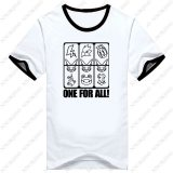 Boku no Hero Academia T-shirt Cosplay My Hero Academia Cotton Short Sleeve Tees
