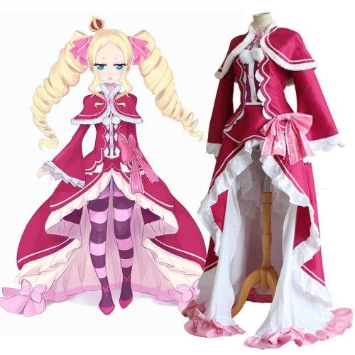 Re: Zero Seikatsu Beatrice Cosplay Dress