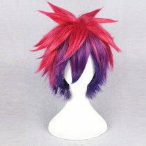 30cm Fluffy No Game No Life Sora Synthetic Wig Cosplay Wig