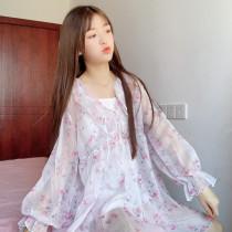 Harajuku Lolita Lace Floral Dress
