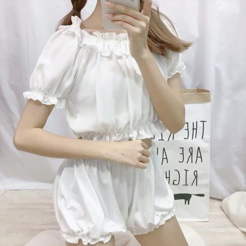 Harajuku Lace Lantern Pajamas Set