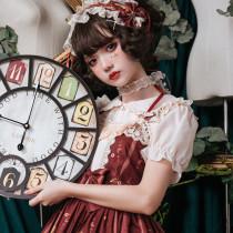 Lolita Pearl Button Chiffon Blouses