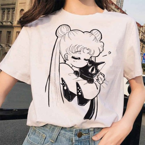 Sailor Moon 90s funny T Shirt