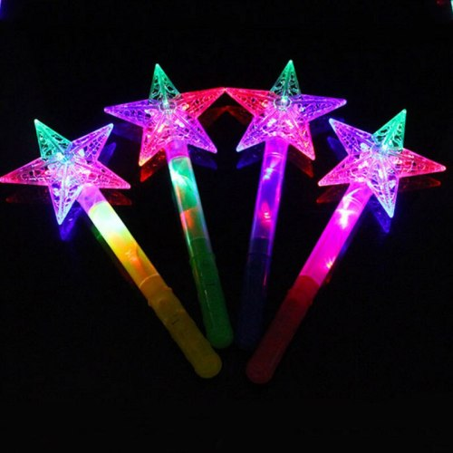 Sailor Moon Light Up Flashing Wand LED Fairy Magic Wand Cosplay Props