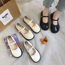 Sweet Lolita Shoes Cosplay JK Round Toe Japanese School Students Girls Bowknot Cute Kawaii Shoes