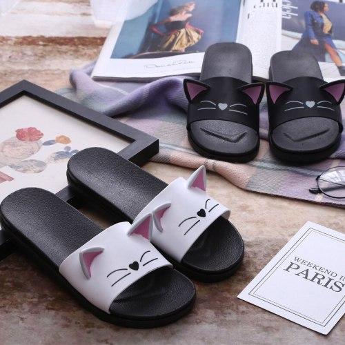 Kawaii Cat Cosplay Slipper Indoor Outdoor Beach Shoes