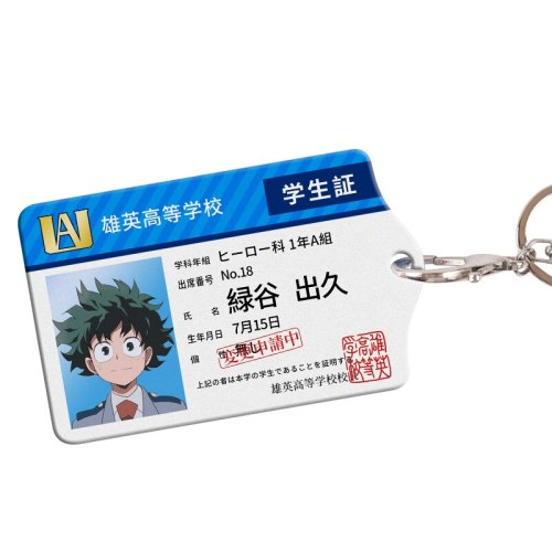 Anime My Hero Academia Cards Holder